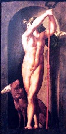 Hades e seu cão, Cérbero